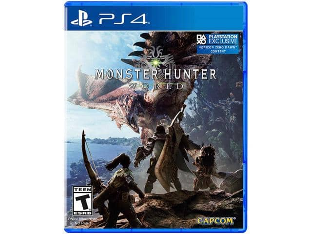 Monster Hunter World (Xbox One or PS4) for $30 from Newegg AC + AP