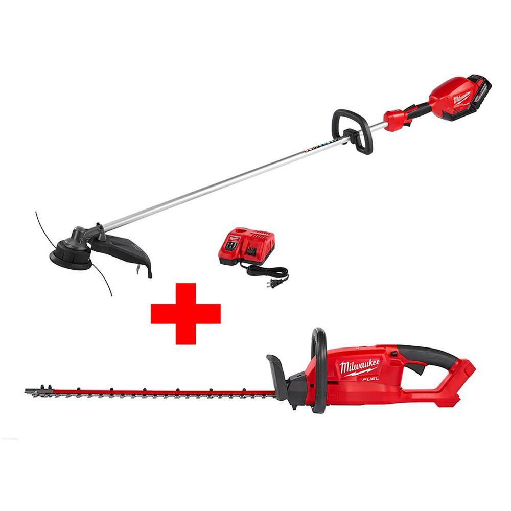 Home Depot B&M: Milwaukee M18 FUEL 18-Volt Lithium-Ion Brushless Cordless String Trimmer Kit with Hedge Trimmer (Bare Tool) Model#  2725-21HD-2726-20; $266.11 + Tax.  YMMV