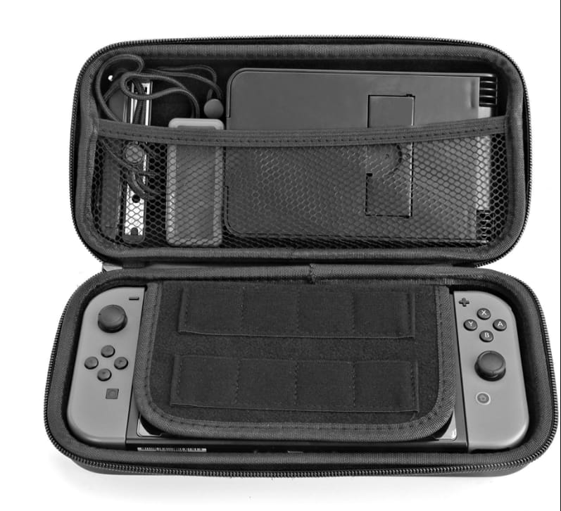 Nintendo Switch Case,Storage Bag for Nintendo Switch Console and Accessories $6.99