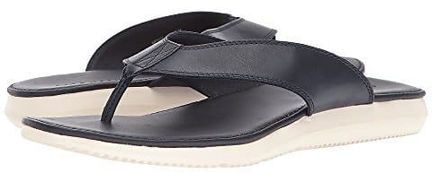 Bristol Men's Leather Sandal in Navy $27.99 + ship @6pm.com $28