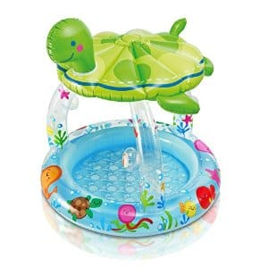 """Intex Sea Turtle Shade Inflatable Baby Pool, 40"""" X 42"""", for Ages 1-3 $9.32 + ship @amazon"""
