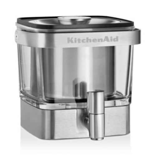 KitchenAid KCM4212SX Cold Brew Coffee Maker, Brushed Stainless Steel $63.99 + fs