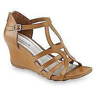 Covington Women's Citywide Brown Gladiator Wedge Sandal - Wide Width Available $  24.99 + ship @sears.com