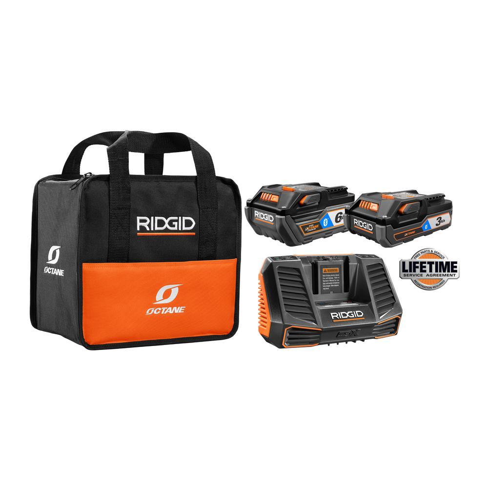 Ridgid Octane Kits + Free Tool(s) $179