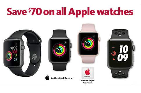 AAFES Only Apple Watch Series 3 $258