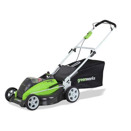 Greenworks 25223 40V G-MAX Cordless Lithium-Ion 19 in. 3-in-1 Lawn Mower $162