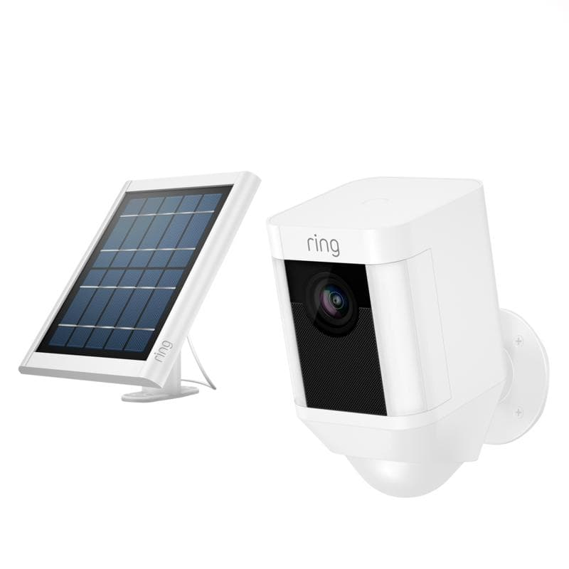 Daily Deal 05/15 ONLY - Ring Security Spotlight Camera with Solar Panel and Ring Assist (White or Black) $159.99