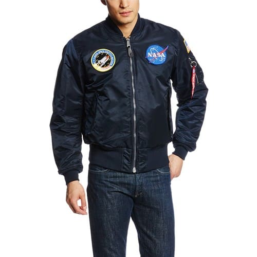 Amazon - Alpha Industries Men's NASA MA-1 Bomber Flight Jacket $86.99