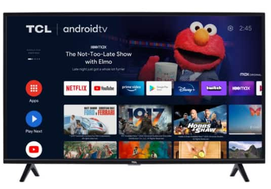 """YMMV,TCL 40"""" Class 1080P FHD LED Android Smart TV 3 Series 40S330, B&M $158"""