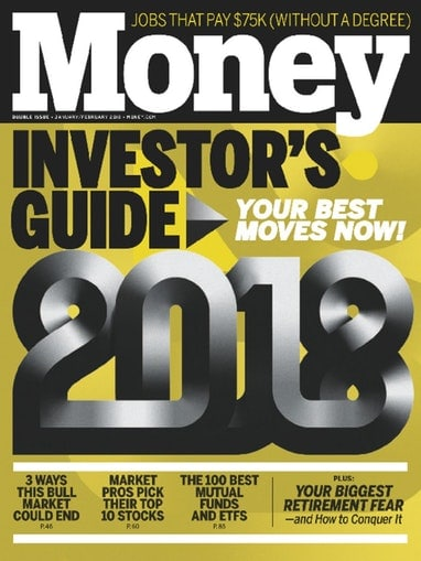 Money magazine subsciption for $9.50 a year