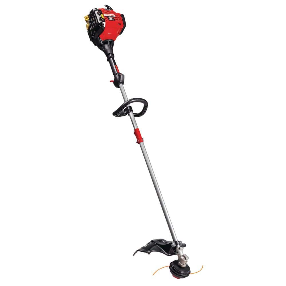 Troy-Bilt 30 cc 4-Cycle Straight Shaft Attachment Capable Gas Trimmer with JumpStart Capabilities $99.99