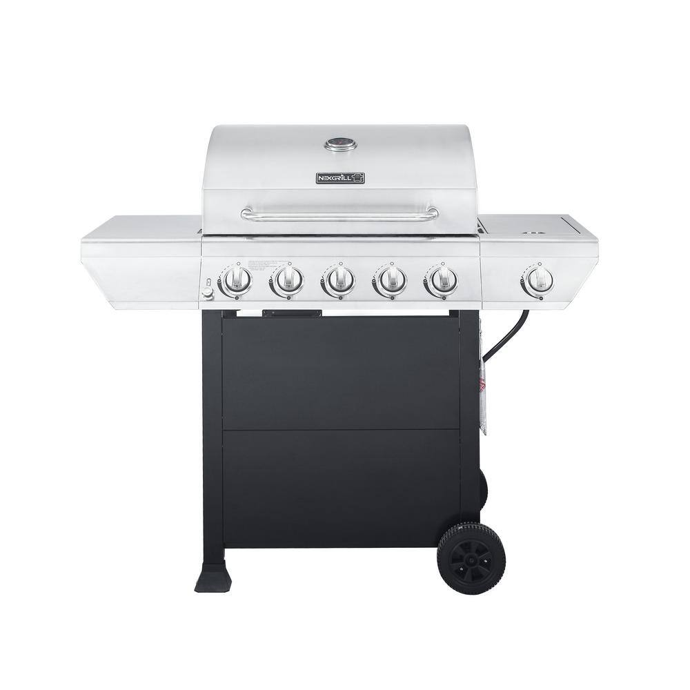 Nexgrill 5 burner grill $159 at home depot
