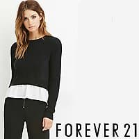 Forever 21 Sweatshirts & Hoodies Sale w/ Savings Up to 50% Off + Extra 10% Off Purchase Offer $6.45+