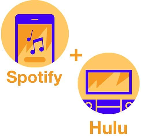 Spotify Premium + Hulu 1-Month Subscription (Students) $5.00