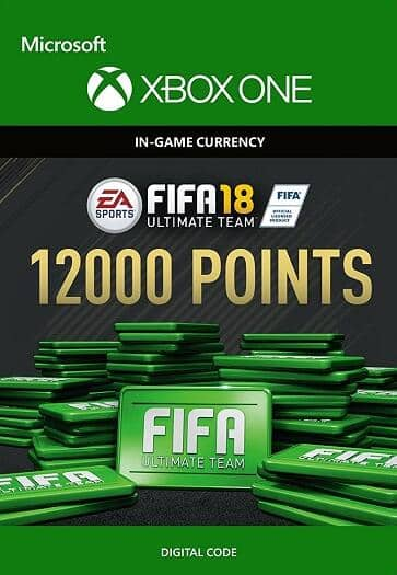 FIFA 18 Ultimate Team 12000 Points XBOX ONE Digital Code for $78.95 @Nokeys