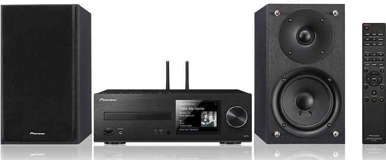 Pioneer X-HM76 Network Mini Stereo System for $175.00 @Newegg