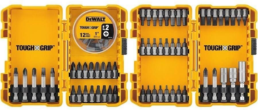 DEWALT 70-Piece Screwdriver Bit Set for $17.98 @lowes