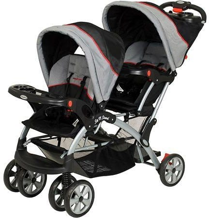 Baby Trend - Sit N Stand Plus Double Stroller for $99 @Walmart