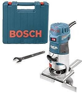 Bosch PR20EVSK Colt Palm Grip 5.6 Amp 1-Horsepower Fixed-Base Variable-Speed Router with Edge Guide for$79.00 @Amazon