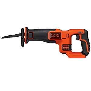 BLACK+DECKER 20V Max Cordless Lithium Reciprocating Saw, Bare Tool, BdCR20B $27.98