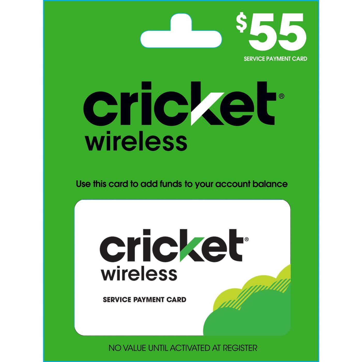 Prepaid Airtime Phone Refill Cards: Cricket, TracFone & More