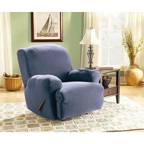 Sure Fit Stretch Pinstripe Recliner Slipcover $47.56