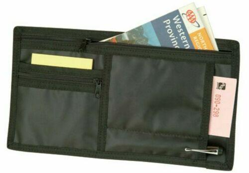 Auto Car Visors Organizer for Registration Insurance Parking Stub Zipper Pockets $6.54