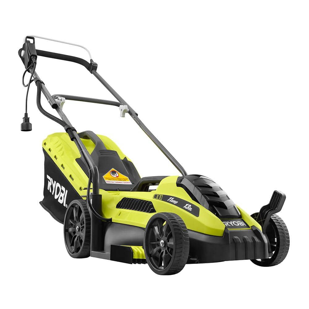 RYOBI 11 Amp 13 In. Electric Push Mower $49.99