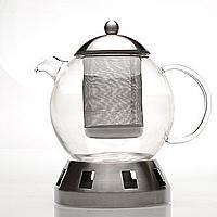 BergHOFF Dorado Glass Tea pot w/ strainer 5.5 cups $  48.99 +fs @sears.com