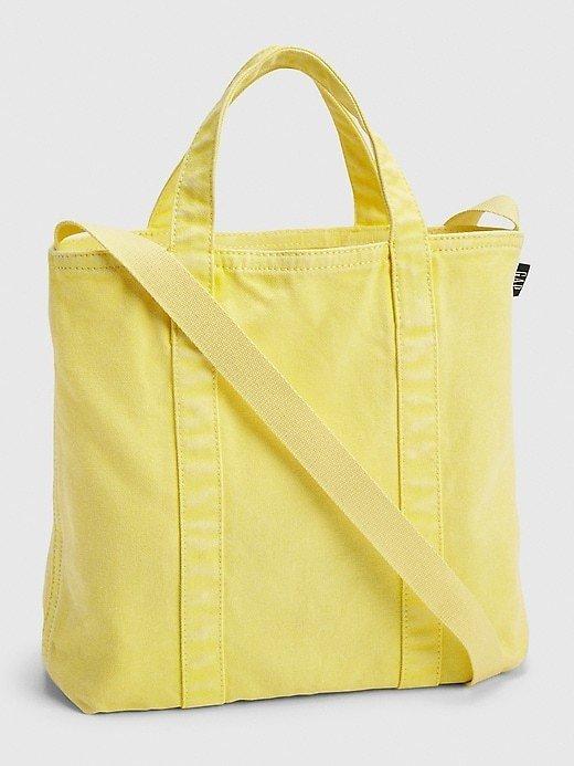Mini Canvas Tote Bag $15