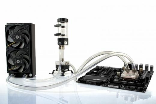 EKWB EK-Kit X240 Custom Liquid Cooling Loop - $357.98
