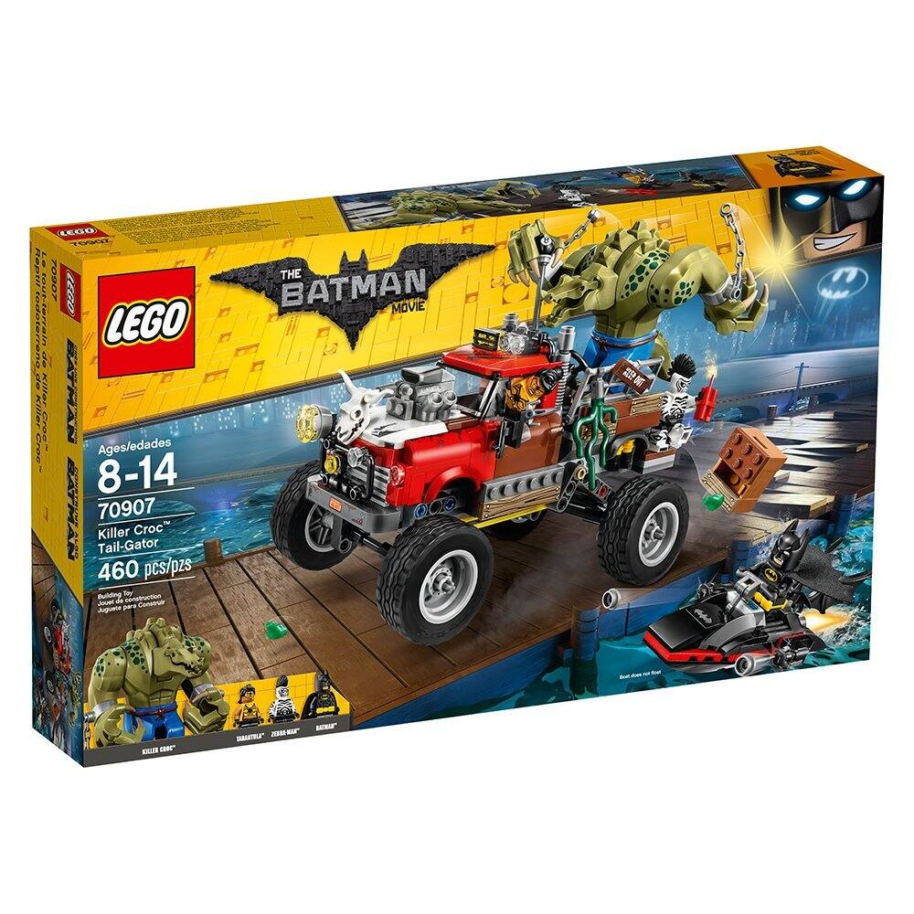LEGO Batman Movie Killer Croc Tail-Gator 70907 now $40.83