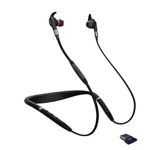 Jabra Evolve 75e UC Wireless Bluetooth Earbuds (Manufacturer Refurbished) $44.99