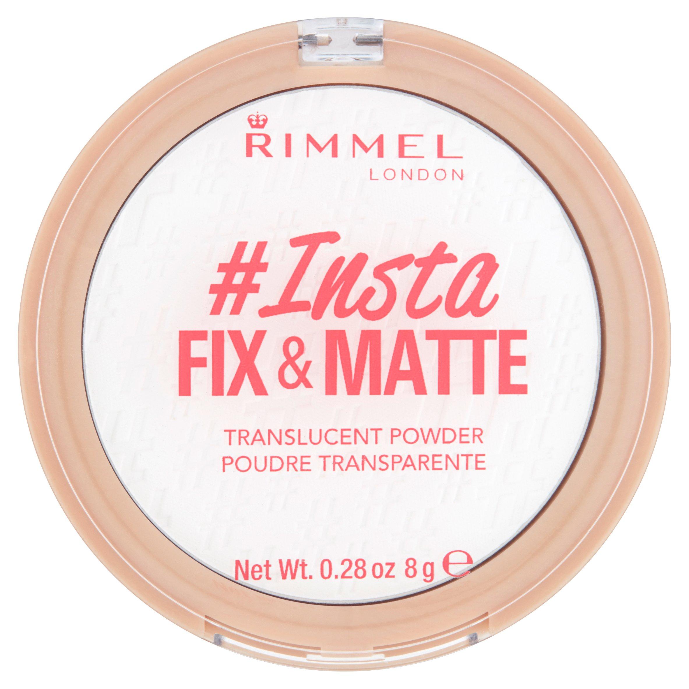 Rimmel London Insta Fix & Matte Translucent Powder $1.00 with pickup savings at walmart