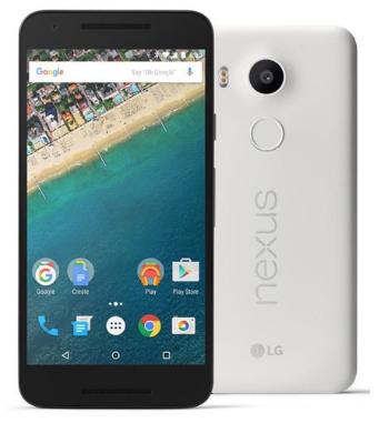 White LG Nexus 5X H790 32GB  Cell Phone $223 @Jet.com