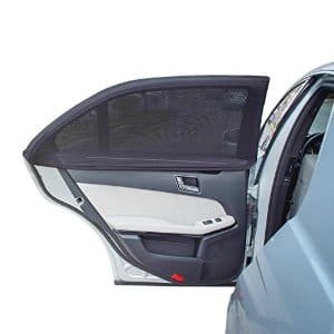 TFY Universal Car Side Window Sun Shade - fit most cars - 2-pack á $11.34 AC FS with Prime @ Amazon