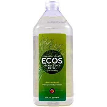Ecos Hand Soap refill 32 Oz Lemongrass $3.41