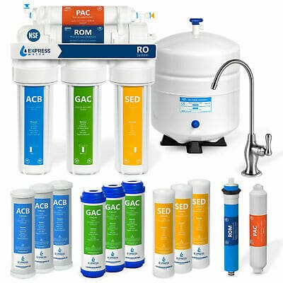 5 Stage Home Drinking Reverse Osmosis System PLUS Extra 7 Express Water Filters 705332529235 | eBay