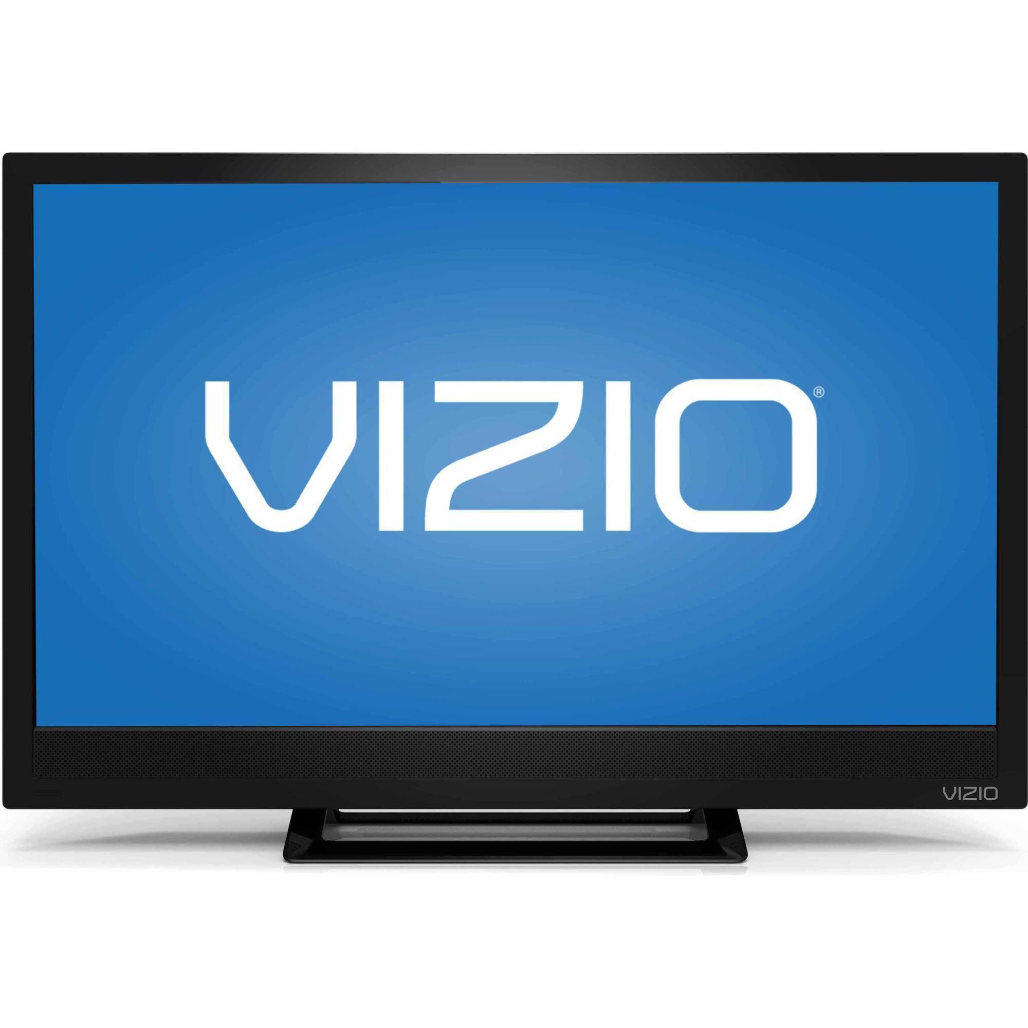 "VIZIO D24H-C1 24"" 720p 60Hz Class Razor LED HDTV $35 B&M ymmv"