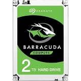 Seagate 2TB BarraCuda SATA 6Gb/s 64MB Cache 3.5-Inch Internal Hard Drive (ST2000DM006) $60