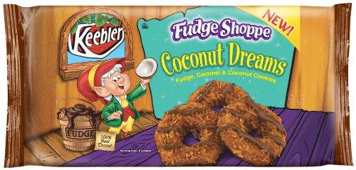 4 packages of Keebler Fudge Shoppe Cookies, Coconut Dreams $7.56 or less