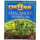 Ortega Guacamole Seasoning Mix, 1 Ounce (Pack of 12) $7.06 or less