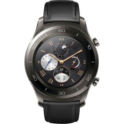Watch 2 Classic Smartwatch (Titanium Gray, Black Hybrid Strap) $179