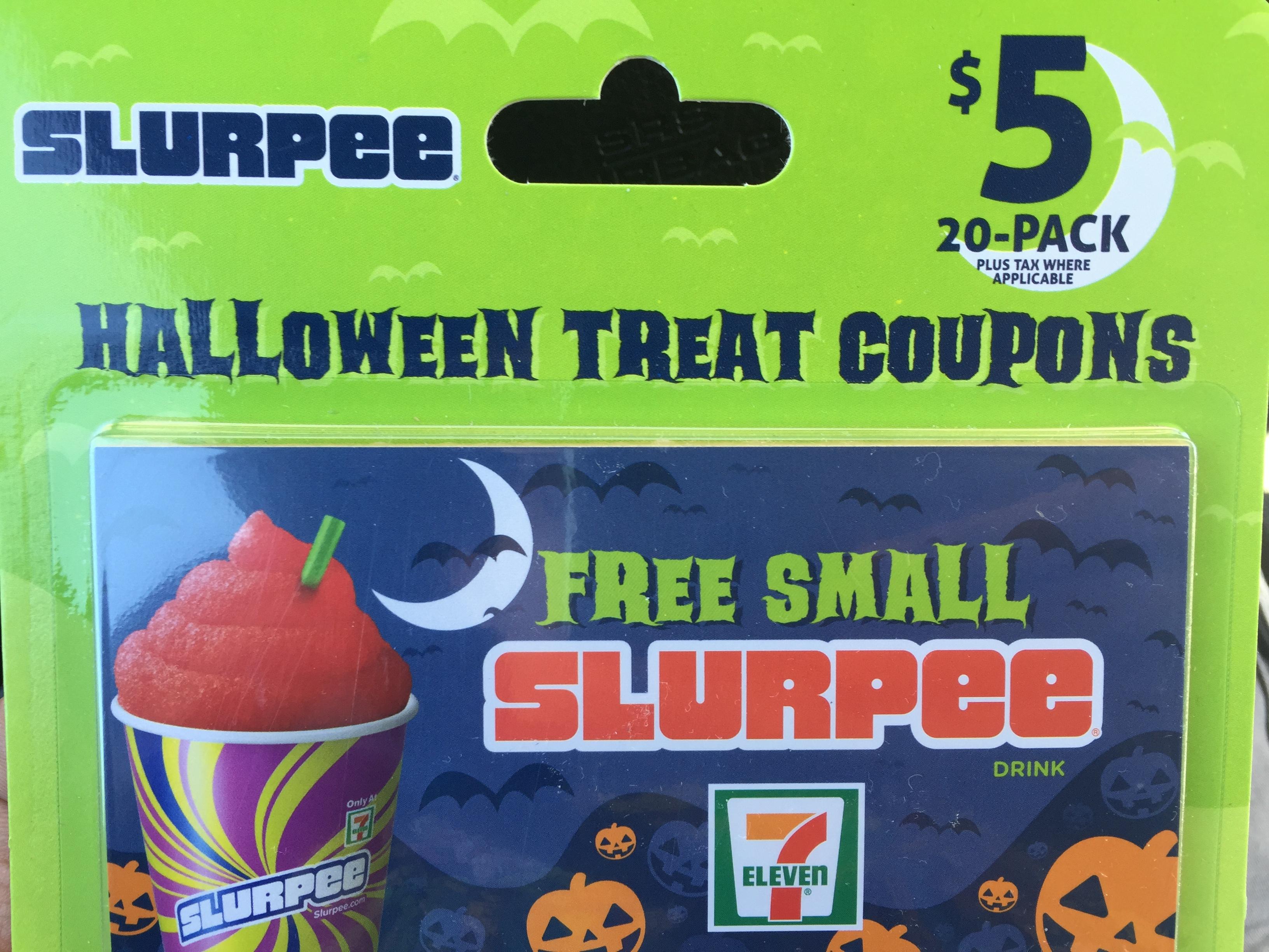 7-Eleven $5 for 20 Slurpees