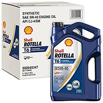 Rotella T6 1 Gallon, Pack of 3 at Amazon - $42.70 after $10 coupon and $15 MIR ($14.23 per gallon)