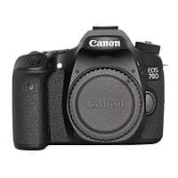 Canon EOS 70D 20.2MP Digital SLR Camera - $  700 + Free Shipping