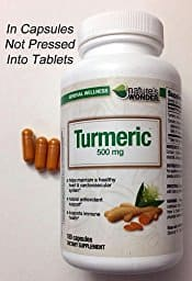 $11 - Turmeric 500 mg 240 count from Nature's Wonder $11.02