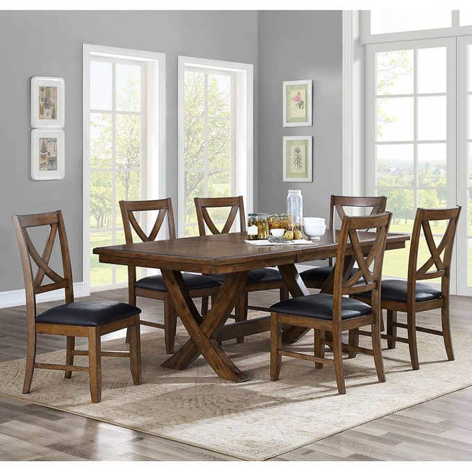 Dinning Set: Valaria By Bayside 7 Piece Dining Set $499 At Costco