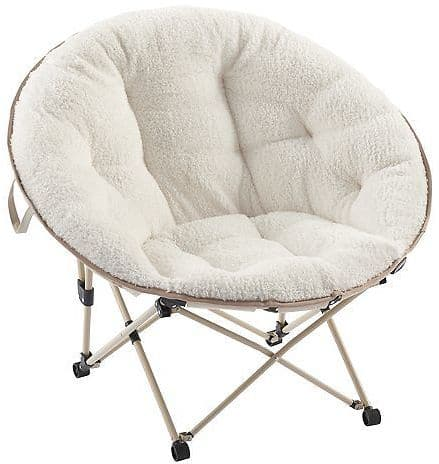 Simple By Design Memory Foam Saucer Chair $48.96 + free store picukp @kohls.com