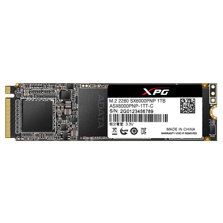 XPG SX6000 Pro 1TB PCIe 3D NAND PCIe $86.39